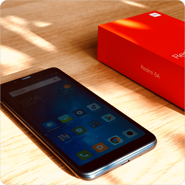 Xiaomi Redmi 6A recenzja