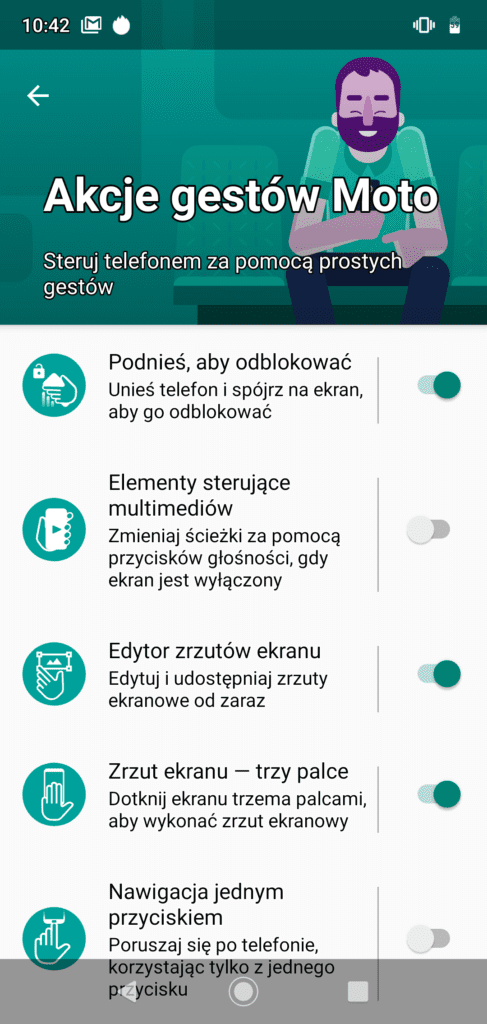 Gesty Moto Motorola G7