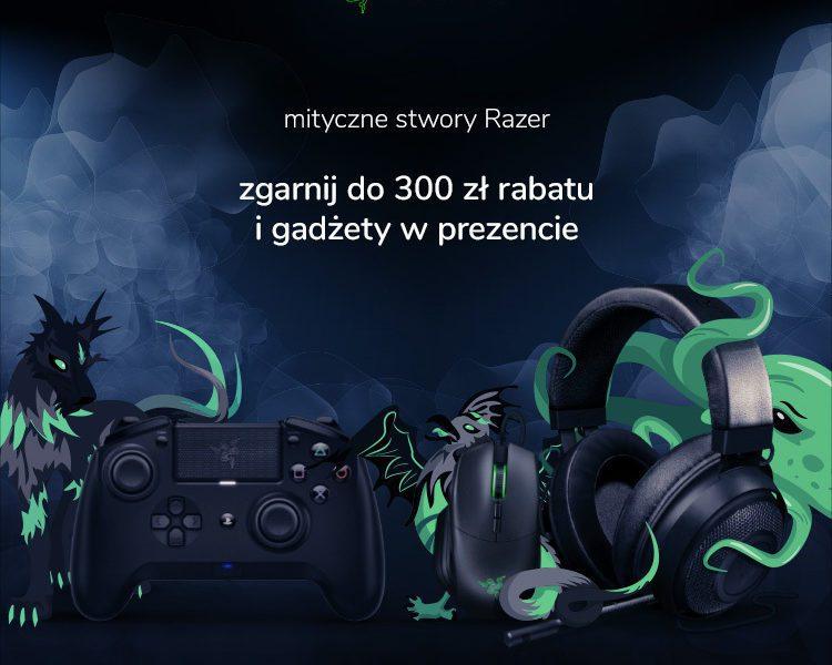 Zgarnij 300 zł rabatu na sprzęt Razer Mythical