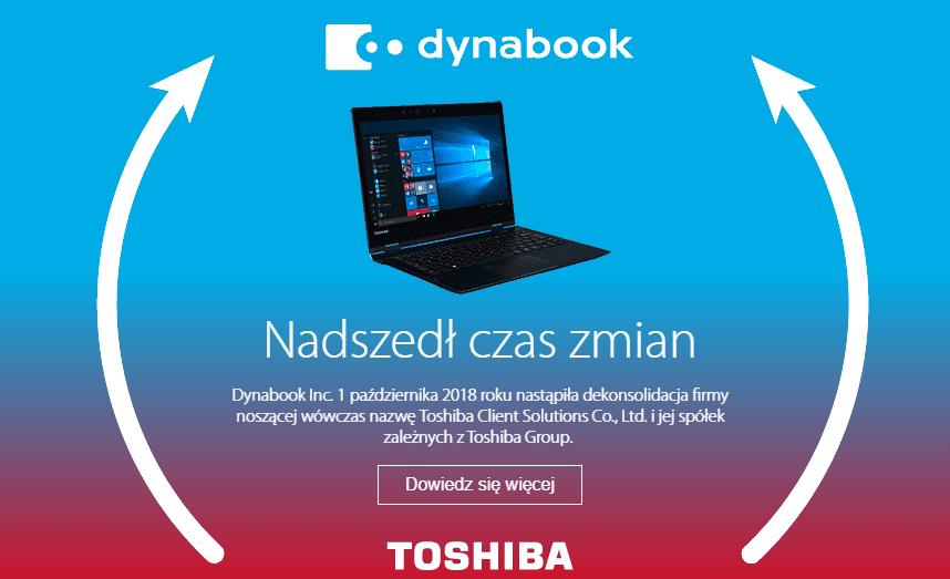 Toshiba zmienia się w Dynabook