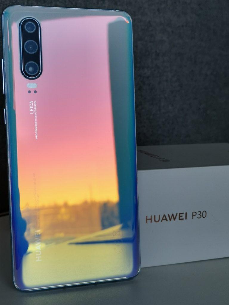 Huawei P30 pudełko opakowanie