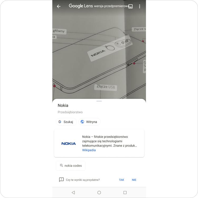 nokia 7.1 google lens