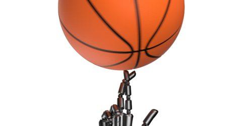 Roboty nie potrafią w koszykówkę? Cue 3 Toyoty rzuca za trzy punkty