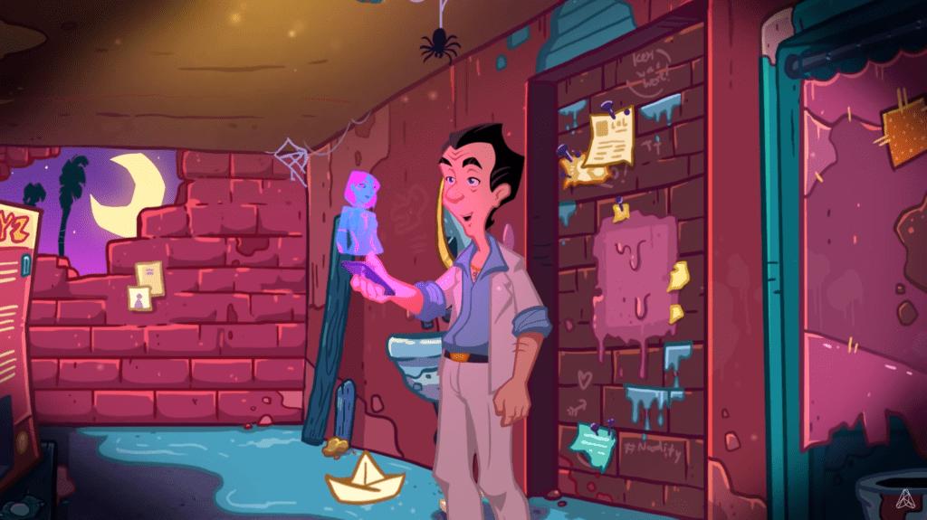 Leisure Suit Larry: Wet Deams Don't Dry screen z gry