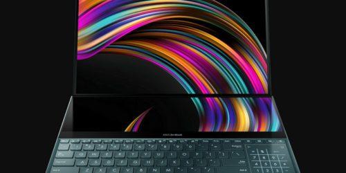 Asus ZenBook Pro Duo, czyli laptop z dwoma ekranami