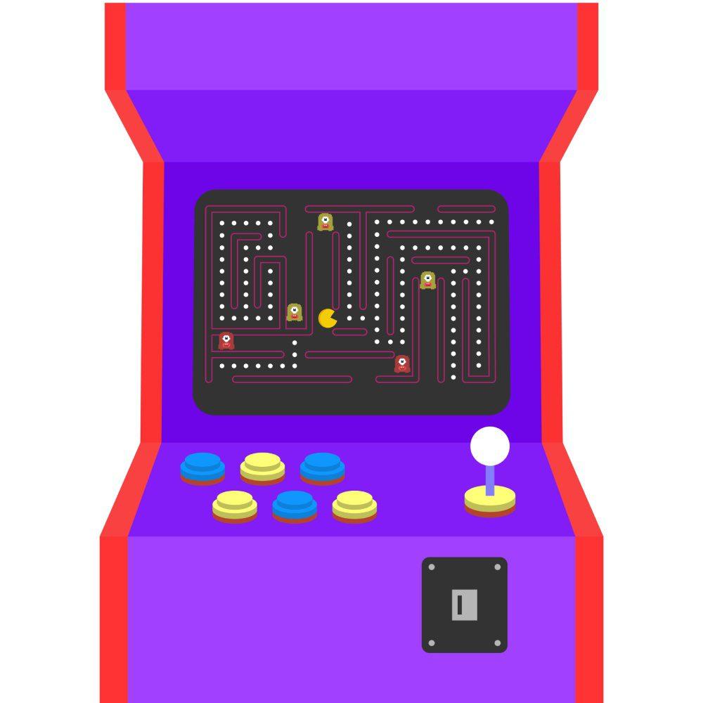 Pac Man automat retro