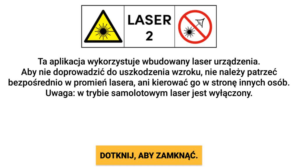 CAT S61 laser dalmierz