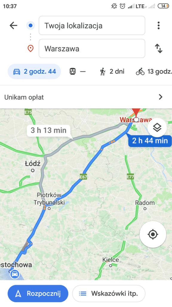 fotoradary google maps
