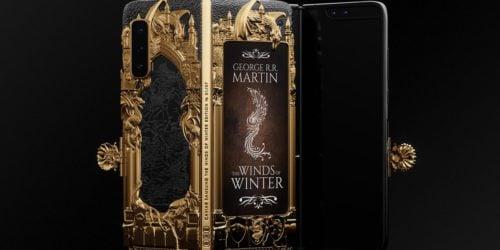 Samsung Galaxy Fold z motywami z Gry o Tron? Ma więcej złota niż proteza ręki Jaime'ego Lannistera