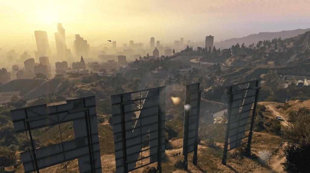 GTA 5 - screen z gry