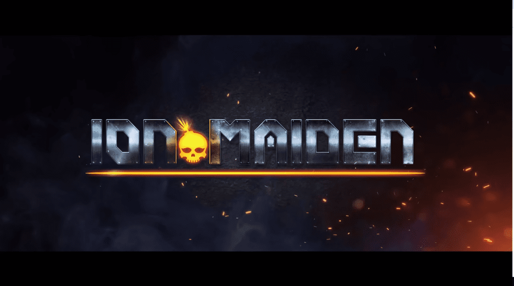 Ion Maiden logo gry