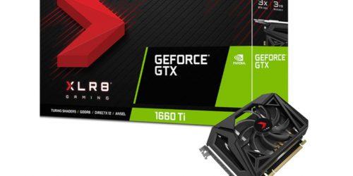 PNY GeForce GTX 1660 Ti XLR8 Gaming OC SF liderem w swojej klasie kart graficznych GeForce