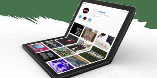 Lenovo chwali się pierwszym laptopem ze składanym ekranem