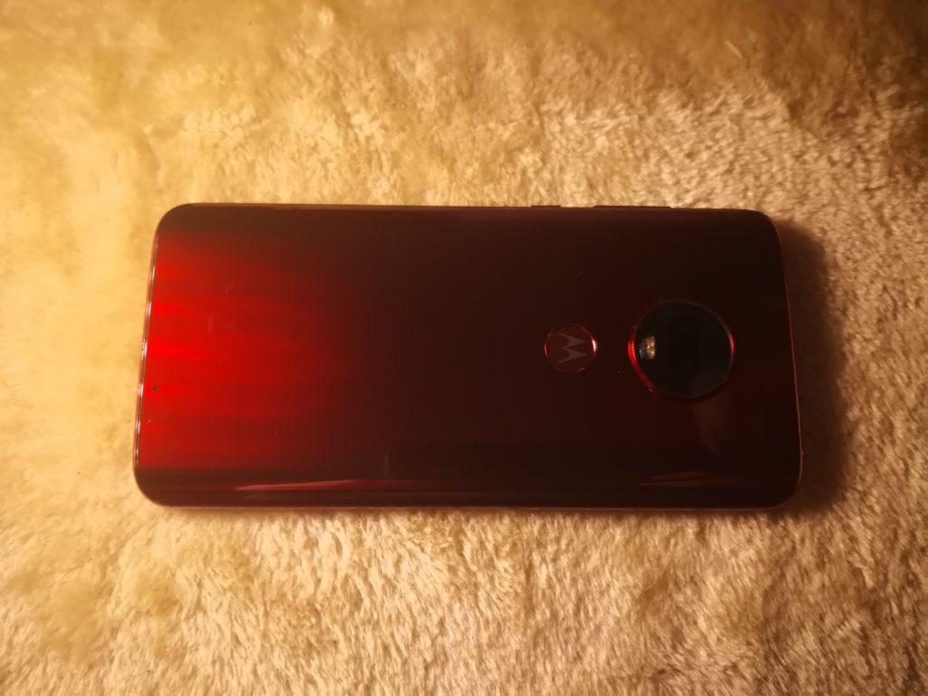 motorola g7 plus czerwona