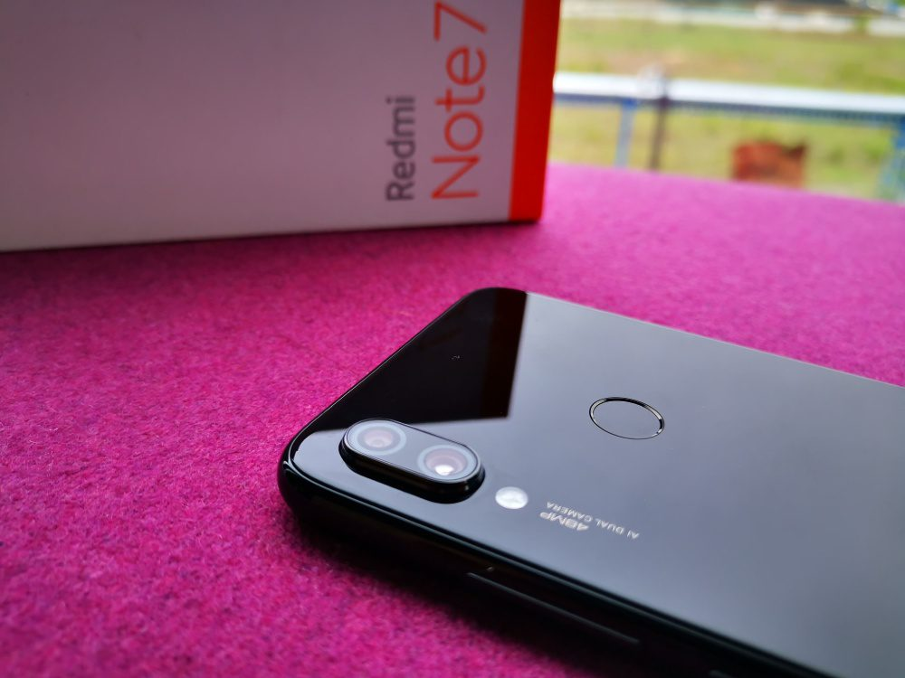 Xiaomi Redmi Note 7 aparat