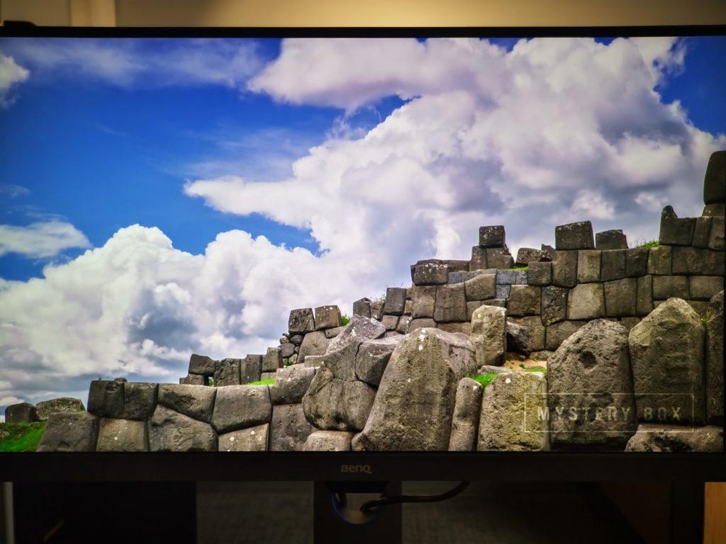 Monitor BenQ PD2700U krajobraz na ekranie