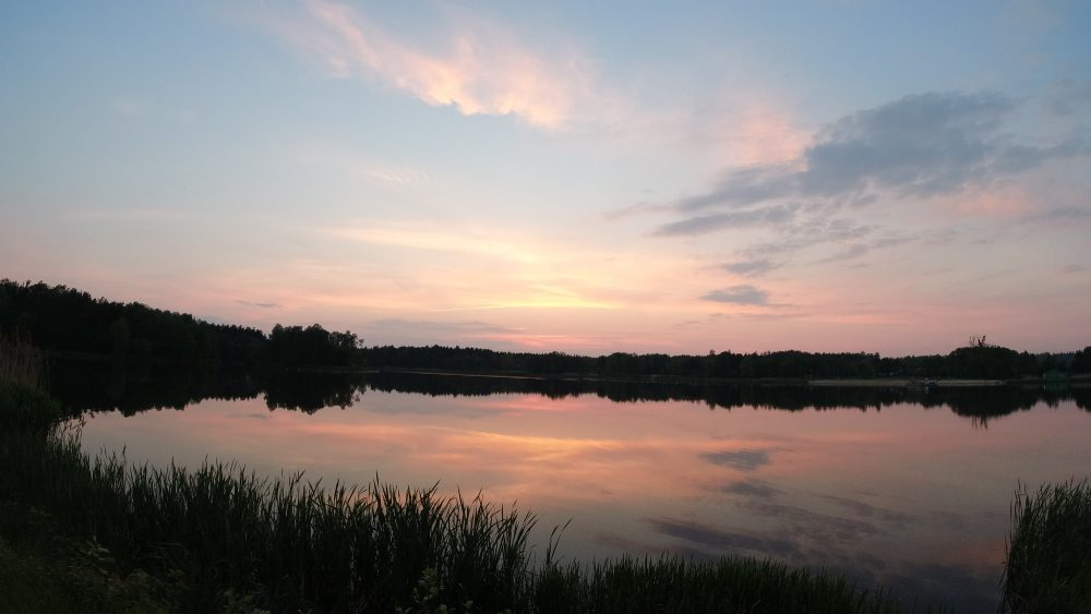 dji osmo action sunset