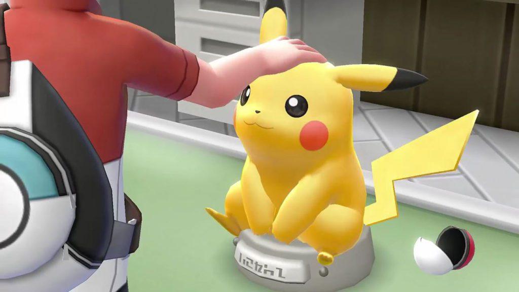 pokemon let's go pikachu screen