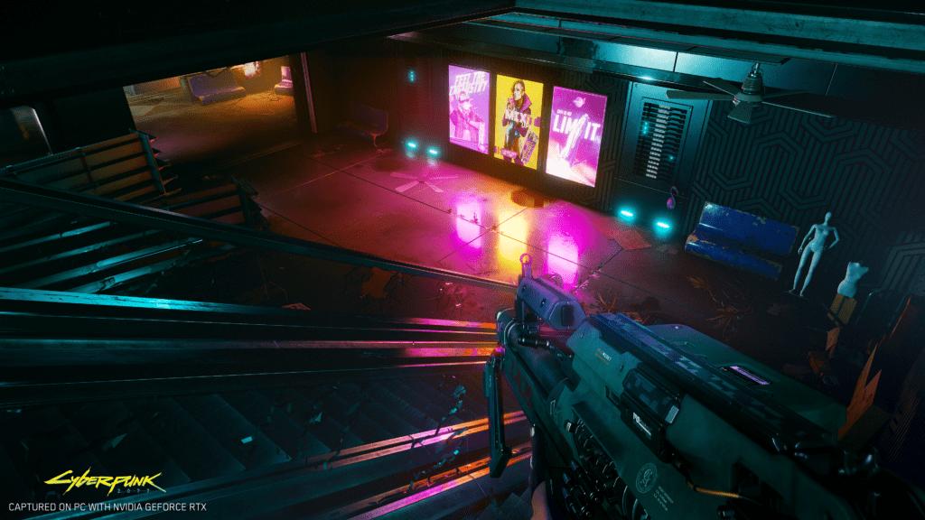 cyberpunk ray tracing