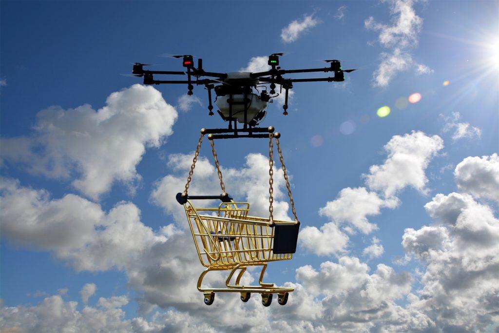 dron zakupowy