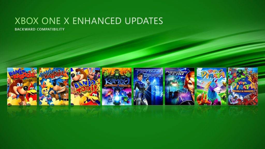 xbox one x - gry z wsteczną kompatybilnością