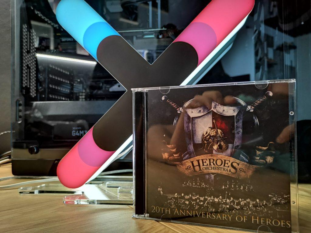 Heroes Orchestra koncert 20-lecie gry, dwupłytowy album