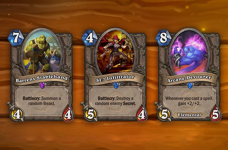 Karty Hearthstone Neutralni Stronnicy