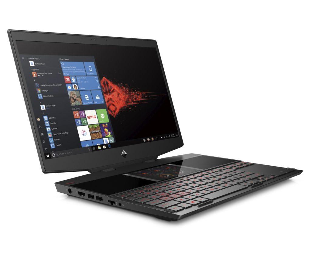 Laptop HP Omen X 2S dwa ekrany