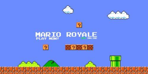 Będzie się działo. Powstaje Mario Bros Battle Royale na przeglądarkę