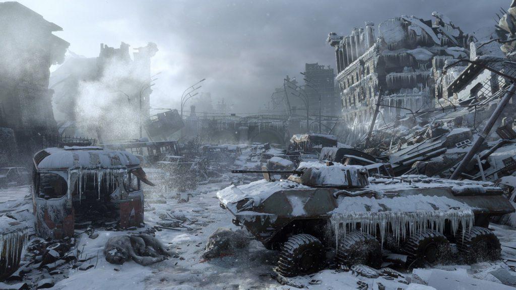 Metro Exodus screen z gry