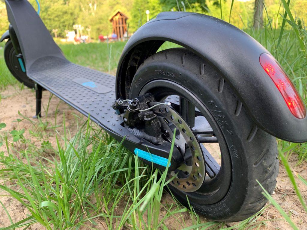 Hulajnoga elektryczna Modus Scooty Power podest i hamulec