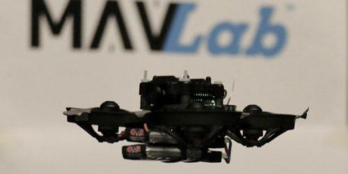 Ile waży najmniejszy autonomiczny dron wyścigowy na świecie?