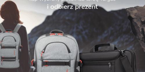 Wakacyjna promocja Targus - kup wybrany plecak lub torbę i odbierz prezent