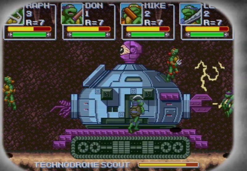"Cowabunga! Fanowska gra na PC z Żółwiami Ninja – ""Teenage Mutant Ninja Turtles: Rescue-Palooza!"""