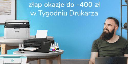 Tydzień Drukarza w x-kom – drukuj jak mistrz z rabatami do 400 zł