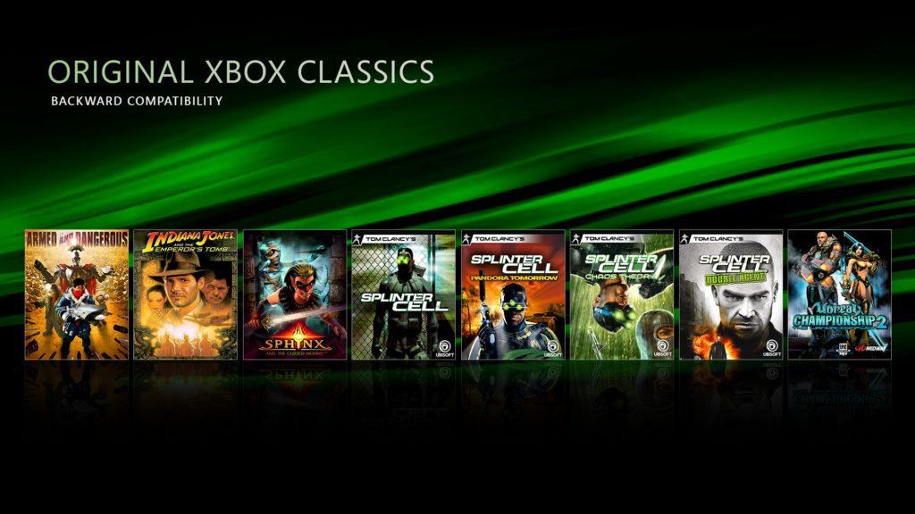 xbox lista gier kompatybilnych z późniejszymi konsolami