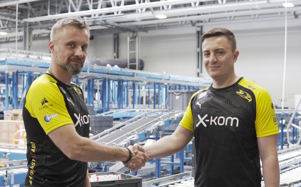 x-kom AGO nowa drużyna w e-sporcie
