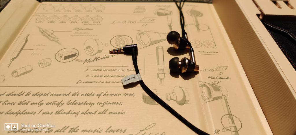 wtyk i słuchawki 1more E1001 Triple Driver