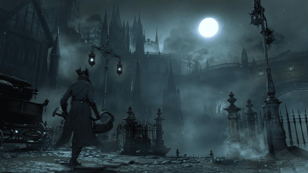 Bloodborne stare yharnam pierwsza lokacja