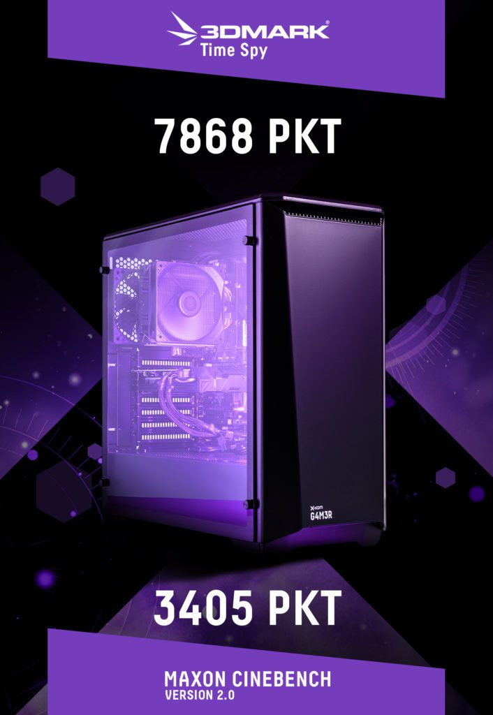desktop x-kom G4M3R 500