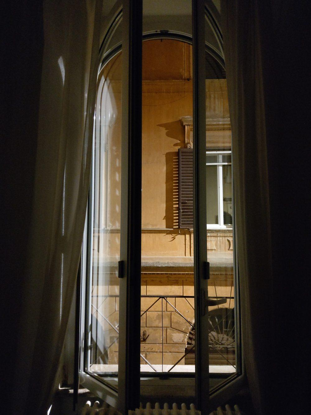 zdjęcie nocne widok z okna htc u12 plus