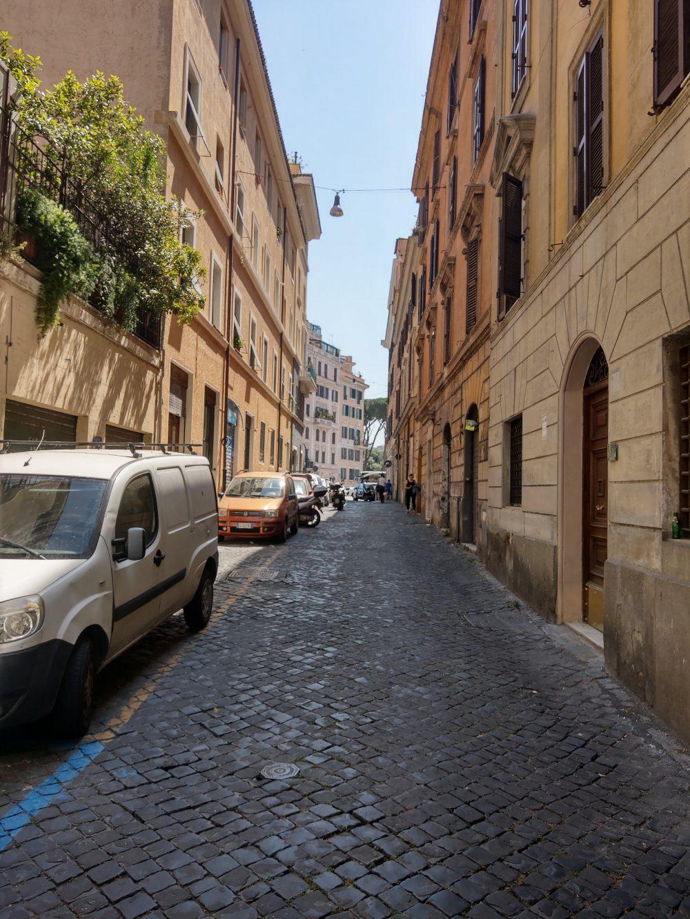 ulica w rzymie zdjęcie htc u12 plus