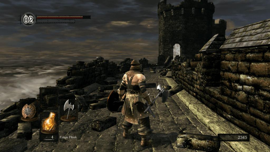 Dark Souls 1 screen z wersji odnowionej