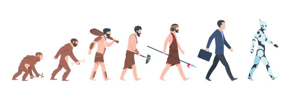 ewolucja cyborgizacja