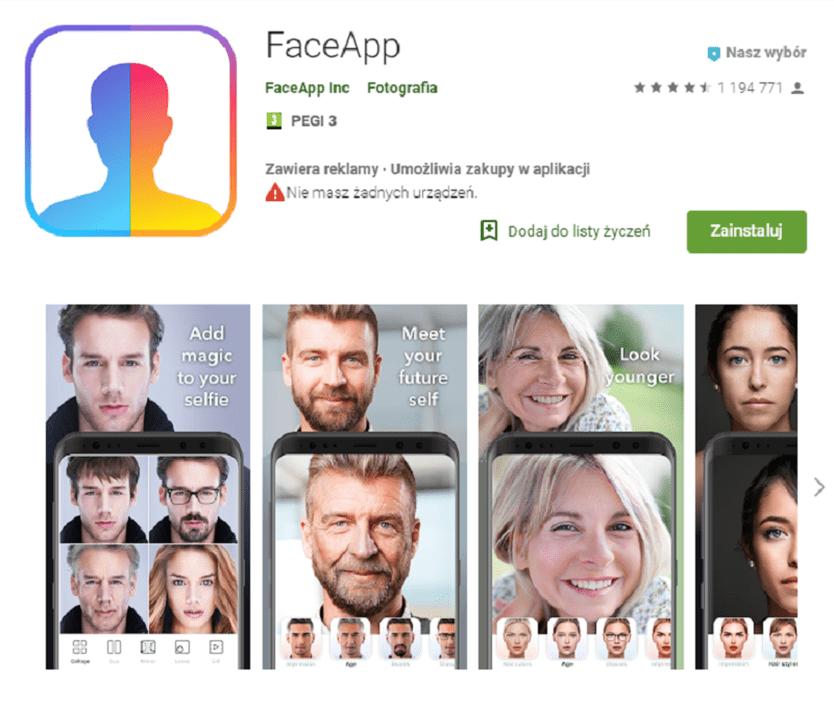 FaceApp – aplikacja do postarzania, która robi furorę w sieci