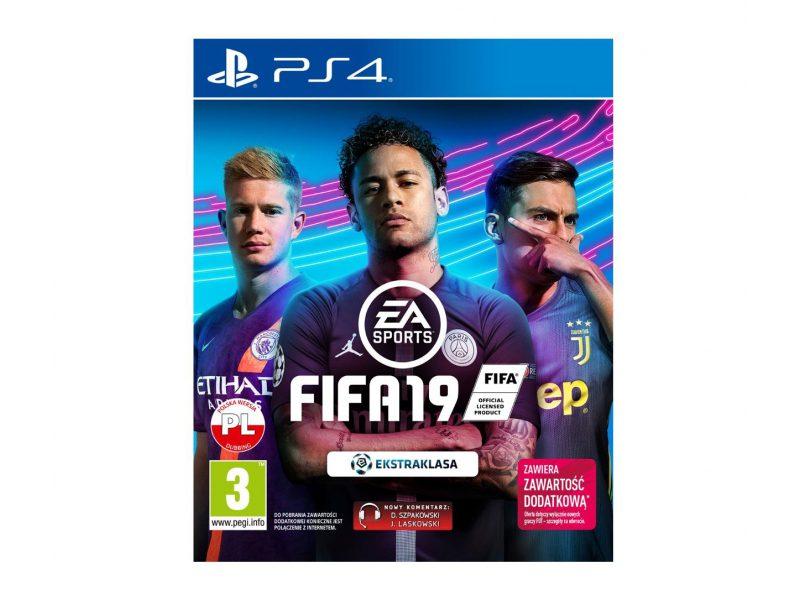 Fifa 19 okładka: Neymar, de Bruyne, Dybala