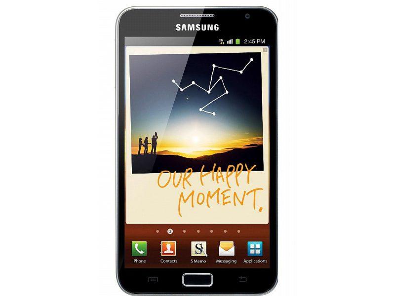 Wyświetlacz Galaxy Note 2011