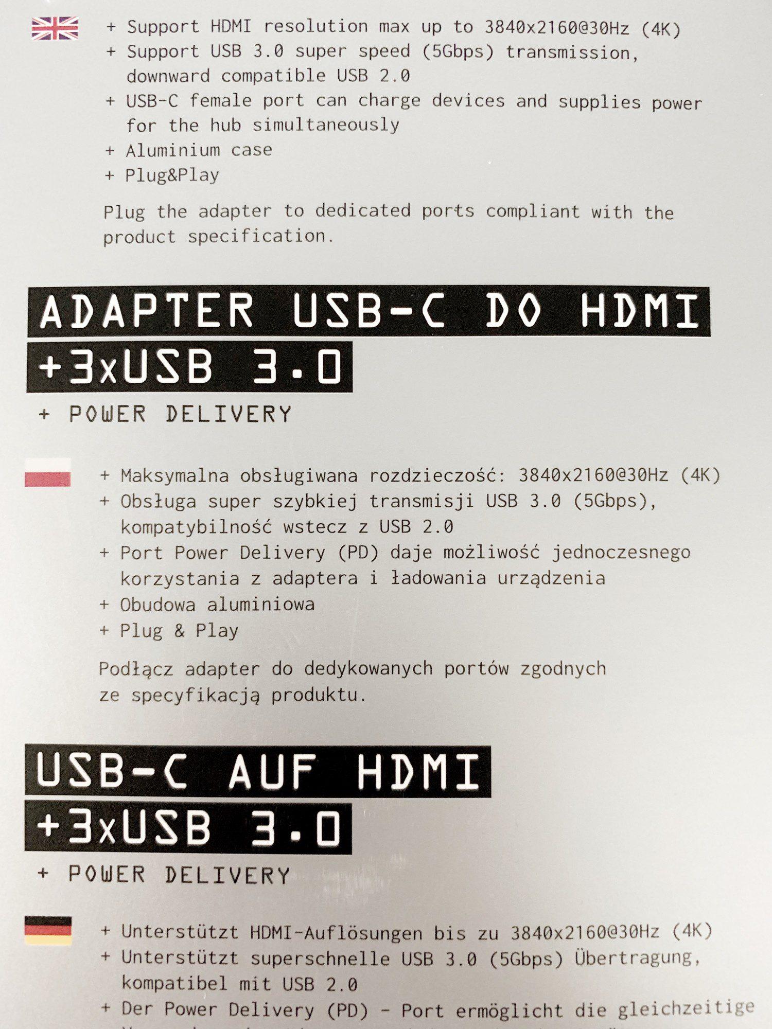 informacje na temat hub usb-c silver monkey w języku polskim