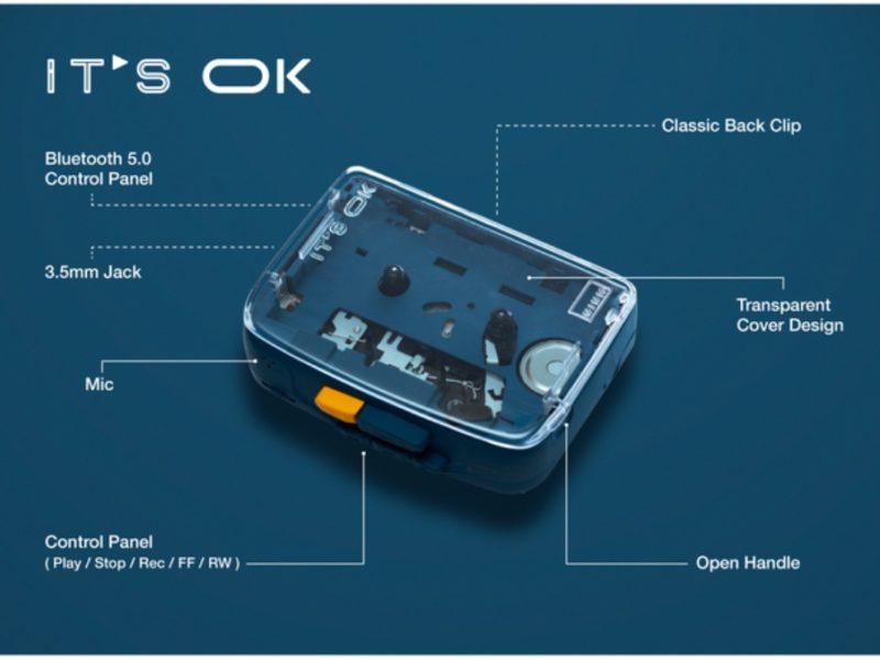 Kasetowy wehikuł czasu, czyli NINM IT'S OK – walkman z łącznością Bluetooth