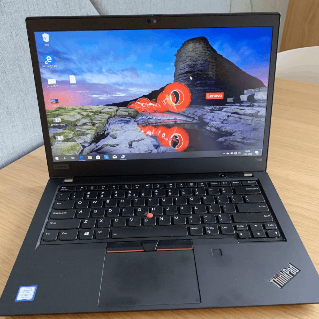 Lenovo ThinkPad T490 ekran i klawiatura